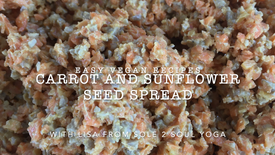 carrot and sunflower spread recipe