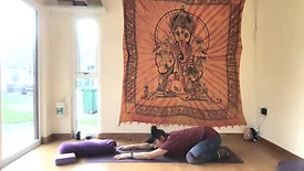 4 yin yoga stretches - 25 minutes
