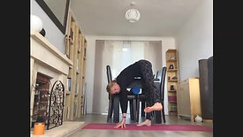 hips, twists and back stretch relax