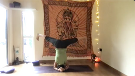 Arm balance and inversion flow