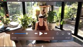 stretch, breath, meditation (Soham)