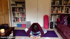 45 mins relax. meditation and strech with Laura
