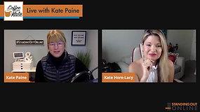 Kate Hosts Kate Hore-Lacy, Sales Success Coach