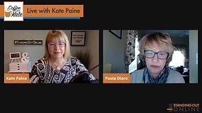 Kate Chats with Book Coach, Paula Diaco