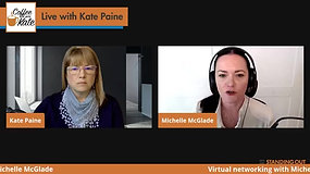 GUEST: Michelle McGlade On Virtual Networking