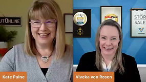 Viveka von Rosen & Kate Chat LinkedIn Use During COVID-19 Pandemic