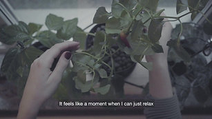 Louise and the plants