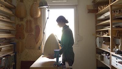 PORTRAIT - Le bois c'est mon métier - Luthière