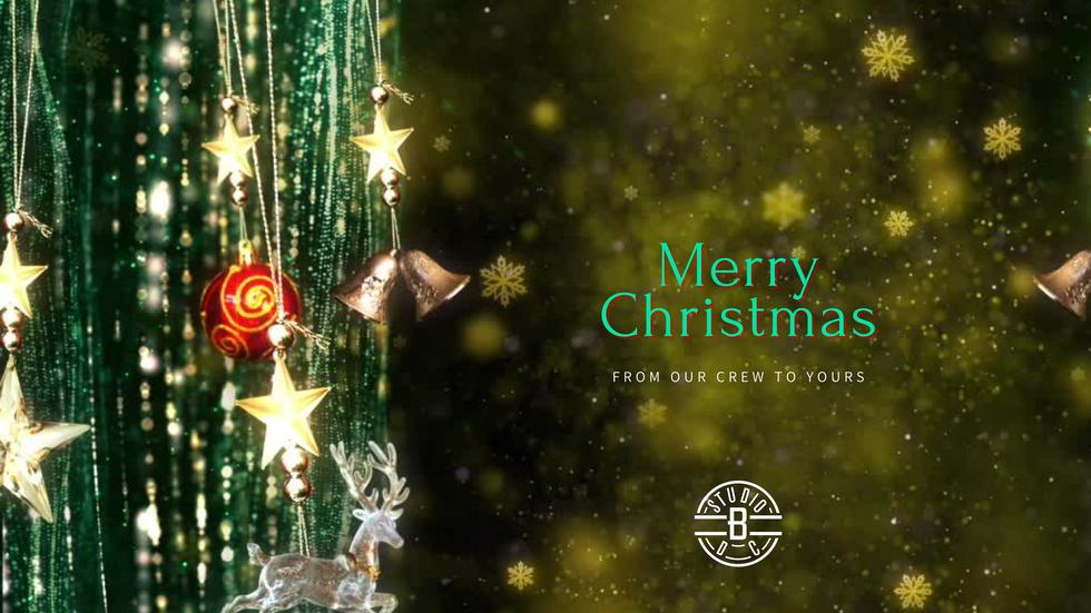Happy Holidays from StudioBDC