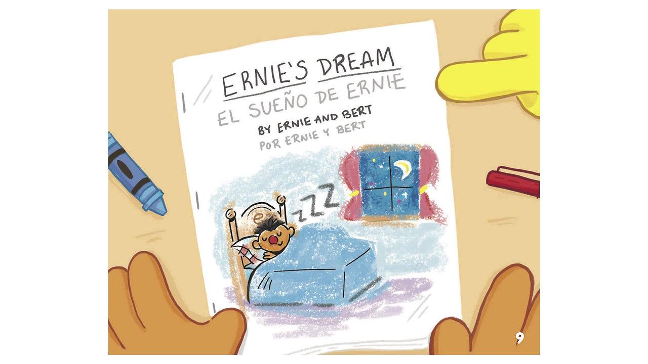 Cuento:  Bert y Ernie compañeros de lectura