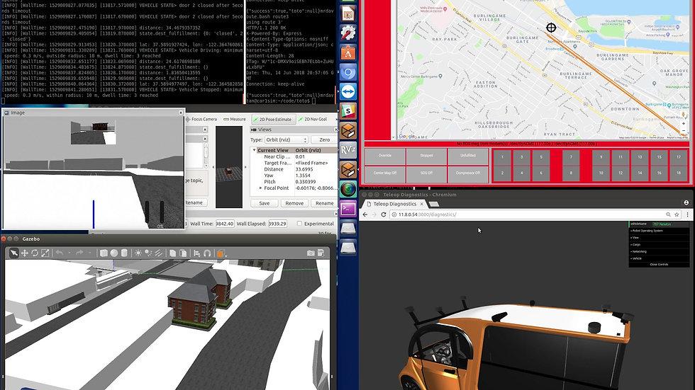 Delivery Loop Sim