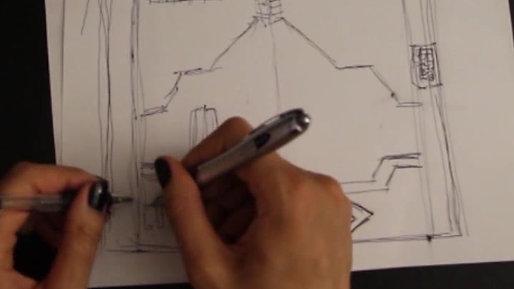 Behind the Scenes Concept Cryo-Door & Black Panther test