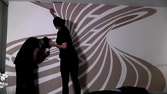 Painting A Mural on Our Wall