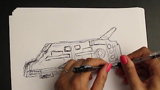 BEHIND THE SCENES - Stealth Ship work in progress