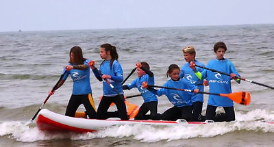 Pourville Teenage surf grand slam 2017