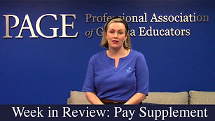 Week in Review: Education Pay Supplement
