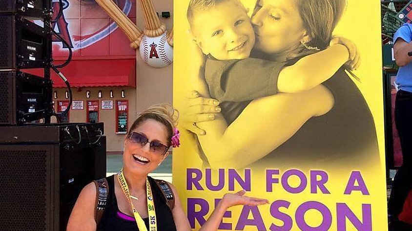 95.9FM The Fish with Mommy and Me Cancer Foundation at Angel Stadium of Anaheim