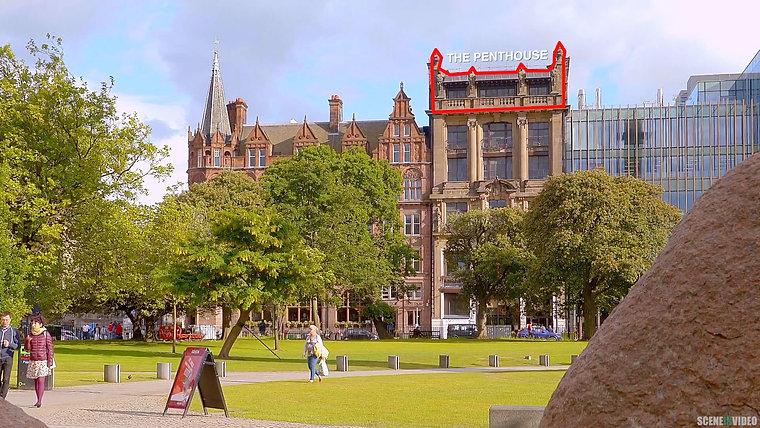 SCENEINVIDEO - Flat 5, The Penthouse, 3 St Andrews Square, Edinburgh EH2 2BD