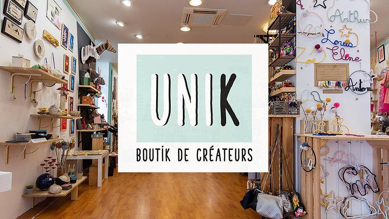 Boutique de créateurs UNIK, Fougères