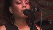DuEwa performs with Rakiem Walker Band in NYC