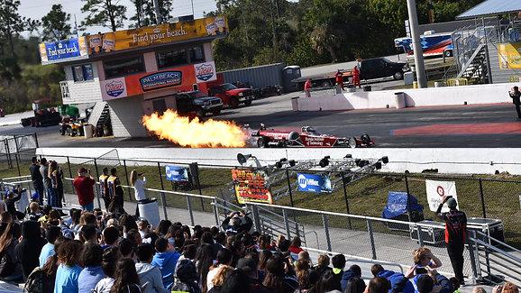 Students Come To Palm Beach International Raceway January 2019