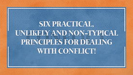 Dealing with Conflict: Stronger Families Workshop | Riverwood Church