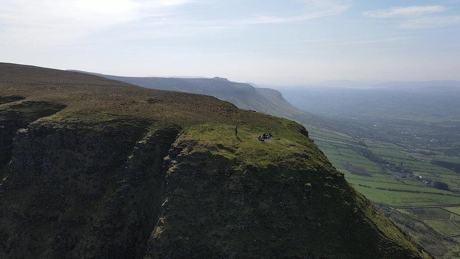 Benbulben Tabletop Mountain, County Sligo