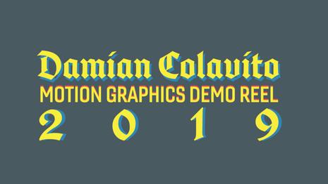Demo Reel 2016-2019