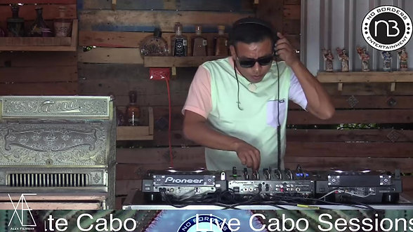 Live Cabo Sessions ft Blue Galactic Monkey (Luna Productions) @Metate