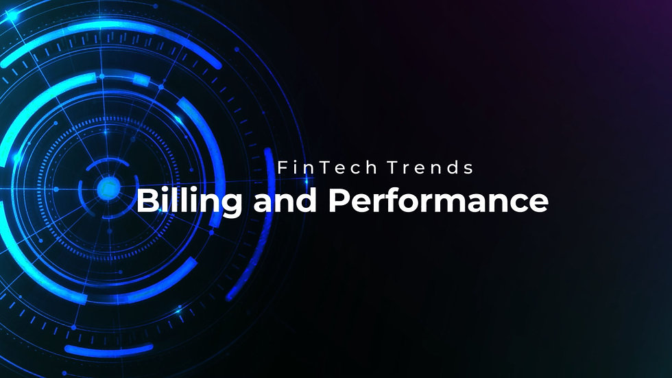 Panoramix - FinTech Trends Billing and Performance