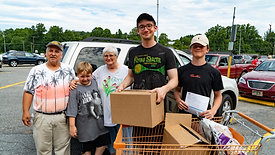 Senior Food Box Distribution