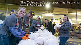 The Outreach Center's 2019 Thanksgiving Food Distribution