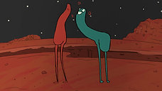 Martian Mating Ritual