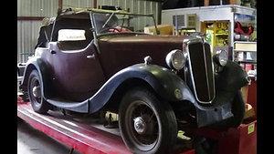 1937 Morris 8 Rare 2 Seat $7500.00
