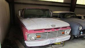 63 Ford Custom Cab Unibody