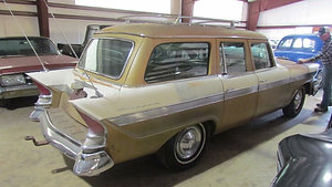 57 Packard Clipper Supercharged Wagon