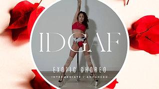 """IDGAF"" EXOTIC CHOREO INT/ADV"