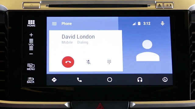Android Auto - Basic controls within your Honda vehicle