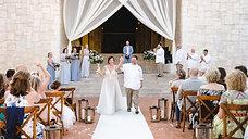 Lindsey & Michael   Wedding Day Highlights :: Dreams Riviera Cancun