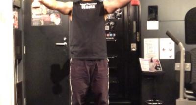 ダンベルを使った肩のけが予防のためのトレーニング