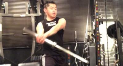 少し変わった体幹トレーニング