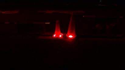 ハイパワーLED警告灯