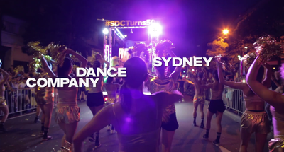 Sydney Dance Company: Mardi Gras Parade 2019