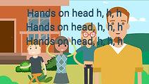 Hands on head