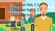 Five fat fish