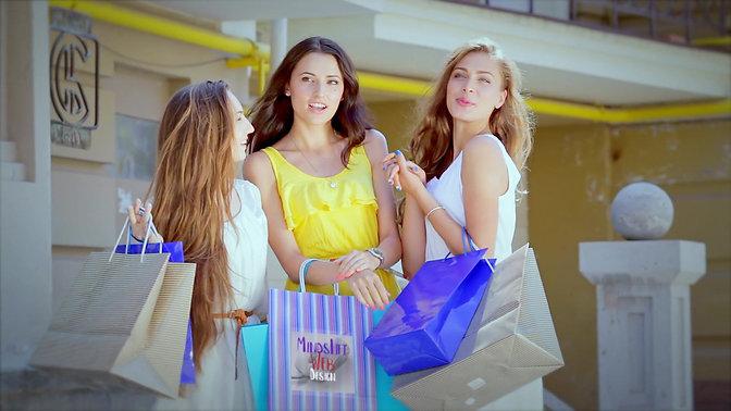 shoping bag logo