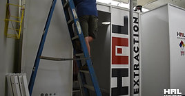 HAL Extraction Booth Installation