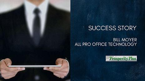 Success Story - Bill Moyer All Pro