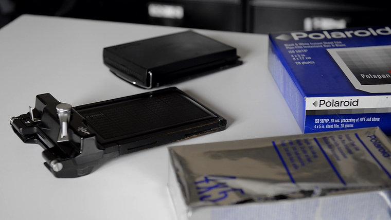 Polaroid 59 et 55 PN