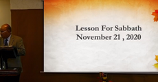 Lesson For Sabbath, November 21, 2020 THE SECOND ANGEL'S MESSAGE